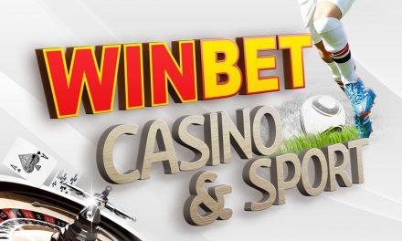 Winbet с казино на живо на сайта си