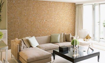 Коркови тапети –  преобразете помещението стилно