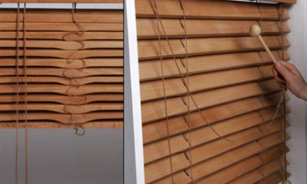 Дървени щори – идеален завършек на касическия интериор