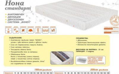 Здравословен и спокоен сън за малки и големи с висококачествените матраци от ЛениСтил