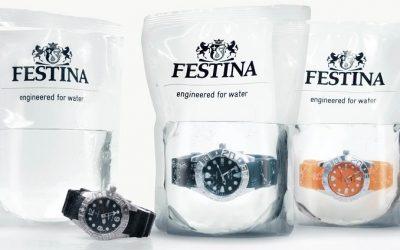 Водоустойчивият мъжки Festina Profundo, представен от ProTime-Bg