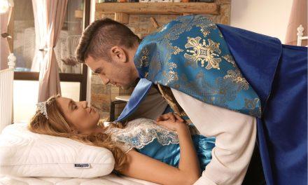 Принцесата и граховото зърно става Спящата красавица с правилния матрак