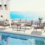 Балкон с градински мебели – идилия на открито